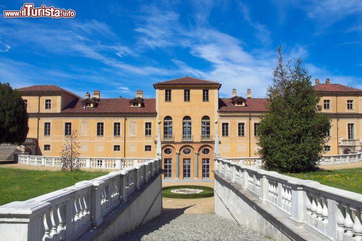La facciata posteriore di villa della regina foto for Palazzo villa torino