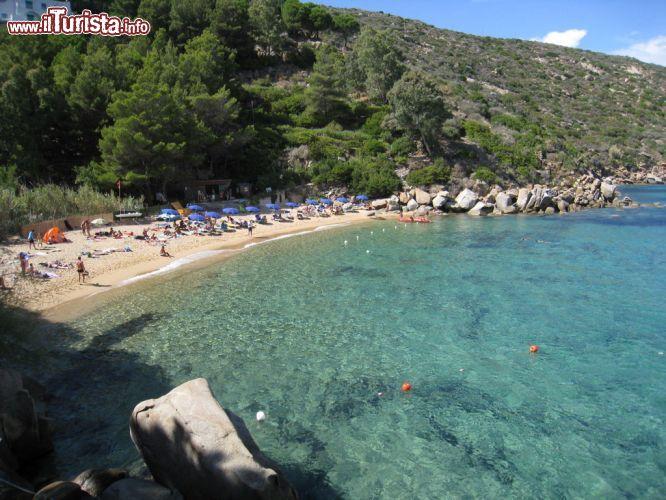 Cosa vedere e cosa visitare Spiaggia delle Caldane