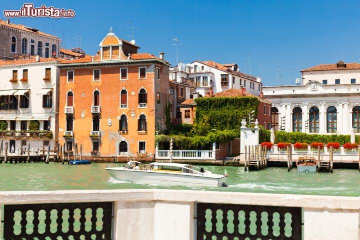 Il panorama del canal grande fotografato dalla foto for Orari museo guggenheim venezia