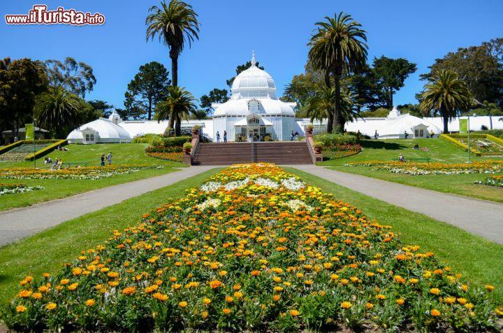 Immagine The Conservatory of Flowers, Golden Gate Park a San Francisco, California