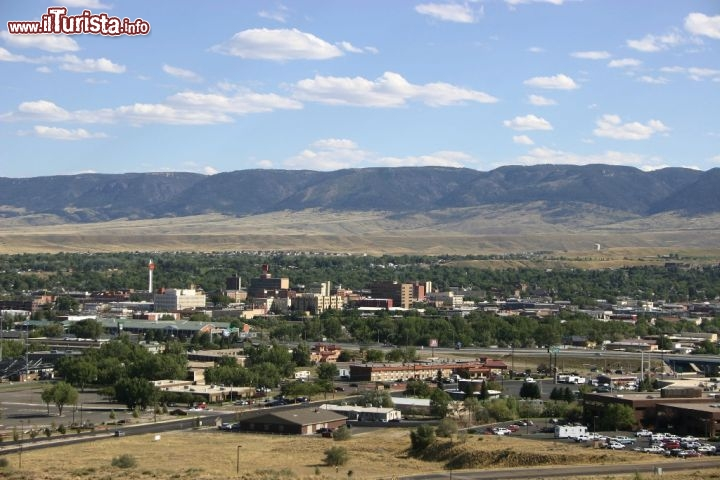 La città di Casper nel Wyoming centrale. Credit: Wyoming Travel & Tourism