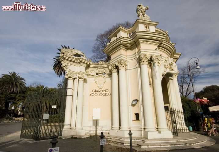 Giardino zoologico di roma l 39 ingresso storico foto for O giardino di pulcinella roma