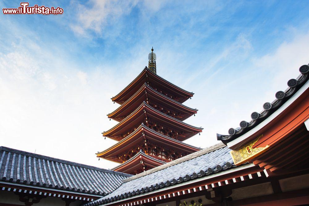 La pagoda a 5 piani del tempio senso ji foto tokyo for Piani di fattoria del sud