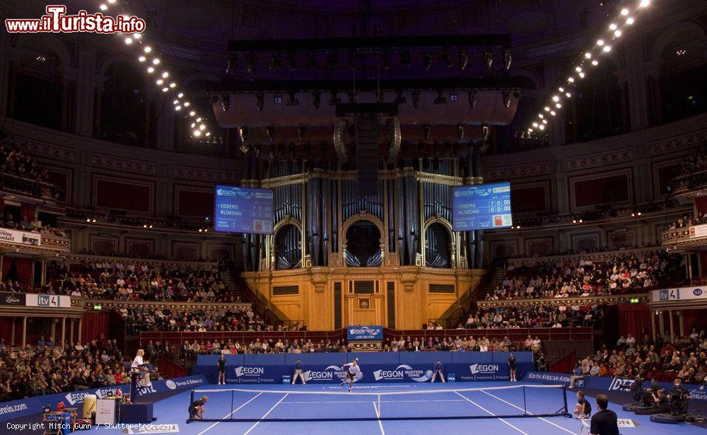 Immagine Torneo di Tennis (APT) dentro all'arena della Royal Albert Hall di Londra - © Mitch Gunn / Shutterstock.com