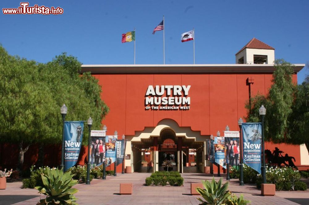 Immagine L'ingresso principale dell'Autry Museum of the American West a Los Angeles, in California - ©  Autry Museum