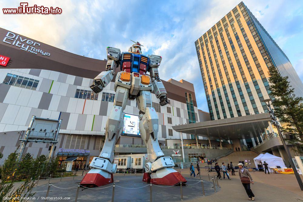 Cosa vedere e cosa visitare Gundam Front - Diver City