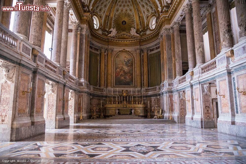 Cappella Palatina Reggia Di Caserta Interni.La Cappella Palatina All Interno Della Reggia Foto Caserta