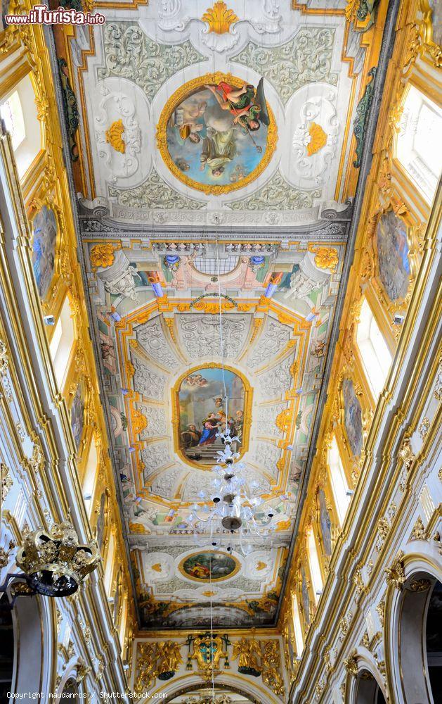 Il soffitto della cattedrale di maria santissima for Soffitto della cattedrale di legno