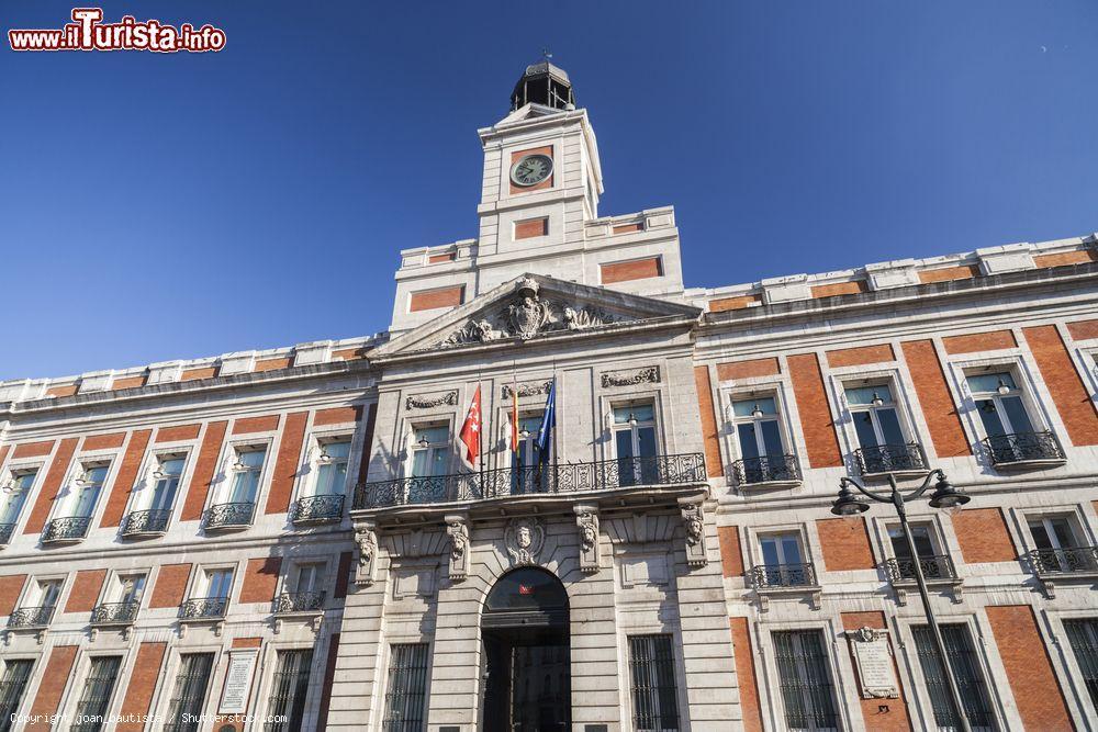 La real casa de correos la sede del foto madrid for La real casa de correos