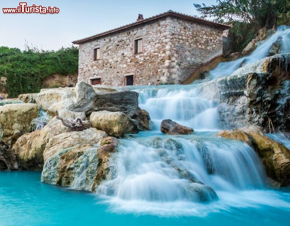 Le terme libere delle cascate del mulino alle terme di - Piscine naturali piemonte ...