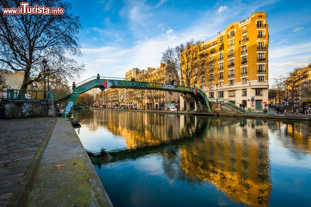 Cosa vedere e cosa visitare Canal Saint-Martin