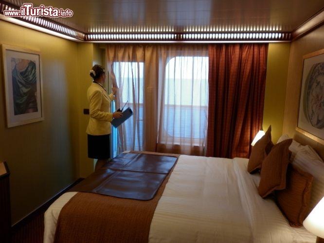 Costa favolosa cabina con balcone guarda tutte le foto for Cabina interna su una nave da crociera