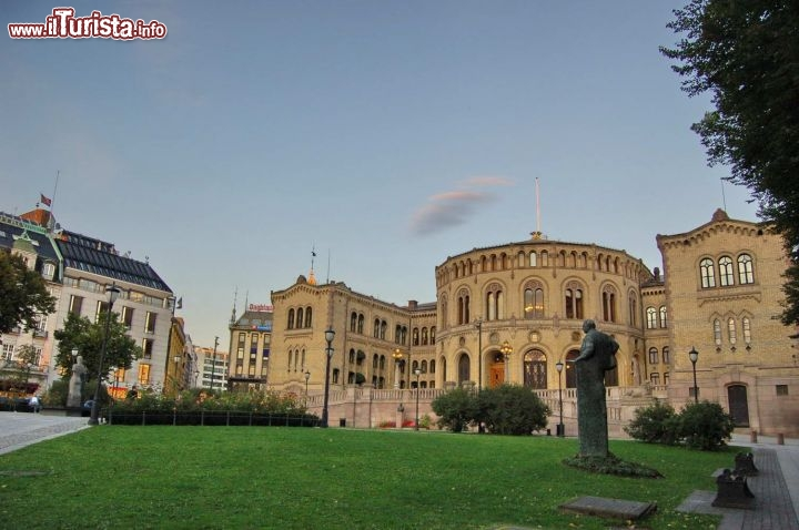 Parlamento Norvegese  stortinget a Oslo