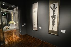 Turin, Italy- March 3, 2017: Preview release of the Exhibition Shodo, Japanese calligraphy contemporary masters at Mao in Turin, Italy - © Stefano Guidi / Shutterstock.com