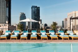 Il Rooftop bar del NoMad a Downtown Los Angeles - Credit Sydell Group
