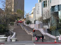 Panorama di Bunker Hill Steps a Downtown Los Angeles, California - © Kevin Yuan / Shutterstock.com