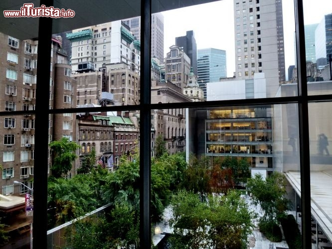 New york vista dalll'interno MoMa