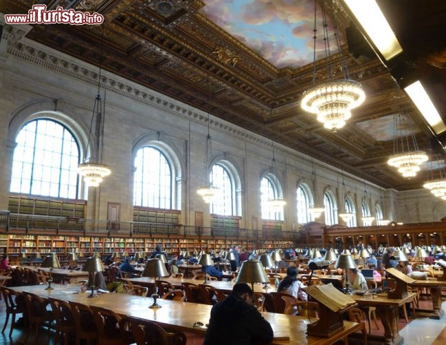 New York Public Library Main Reader Room