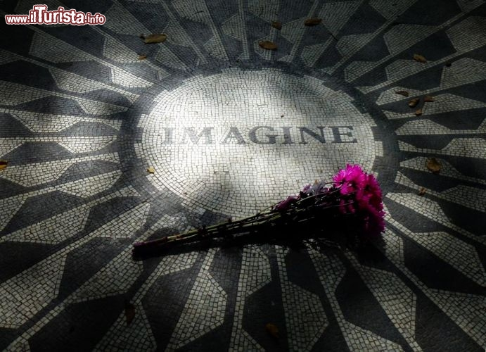 Strawberry Fields, Memorial John Lennon a Central Park