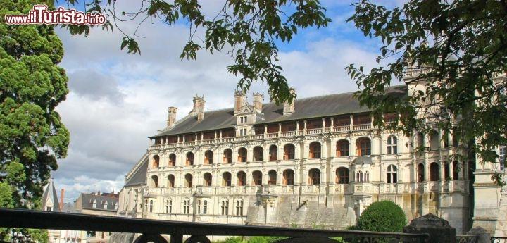 La facciata delle logge al castello di blois guarda tutte le foto for Puglia garden city ny