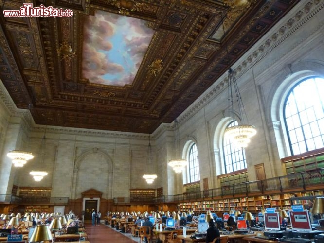 Immagine Rose Main Reading Room, New York Public Library