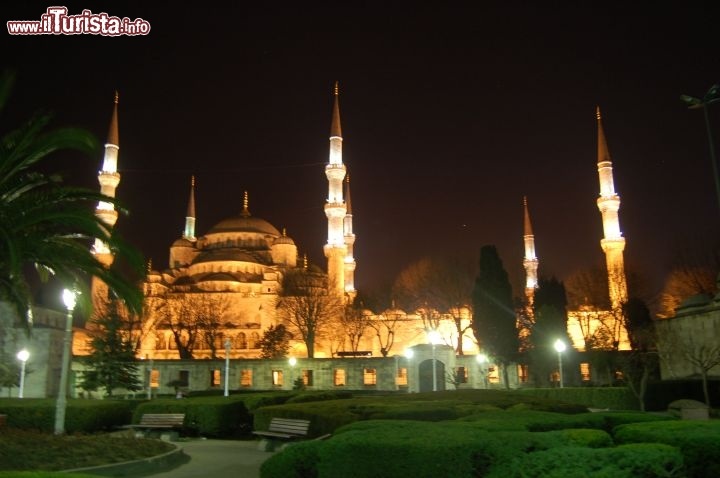 Immagine Sultanahmet Camii by night