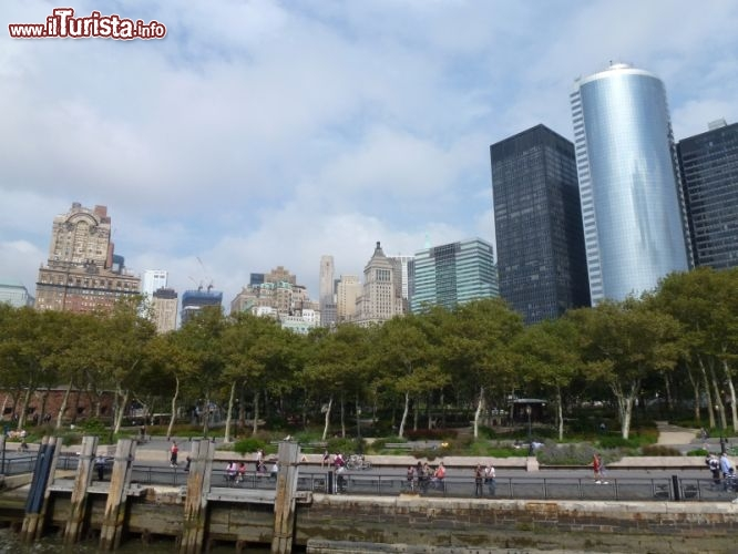 Immagine Battery Park dalla nave