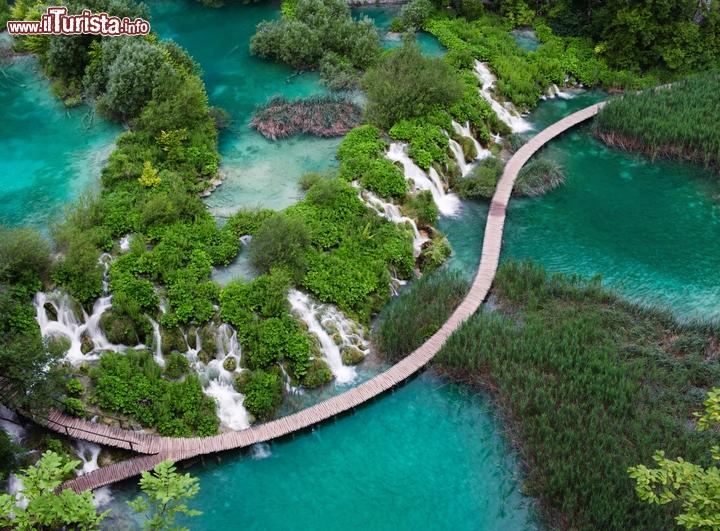 Il Parco Nazionale Dei Laghi Di Plitvice Croazia