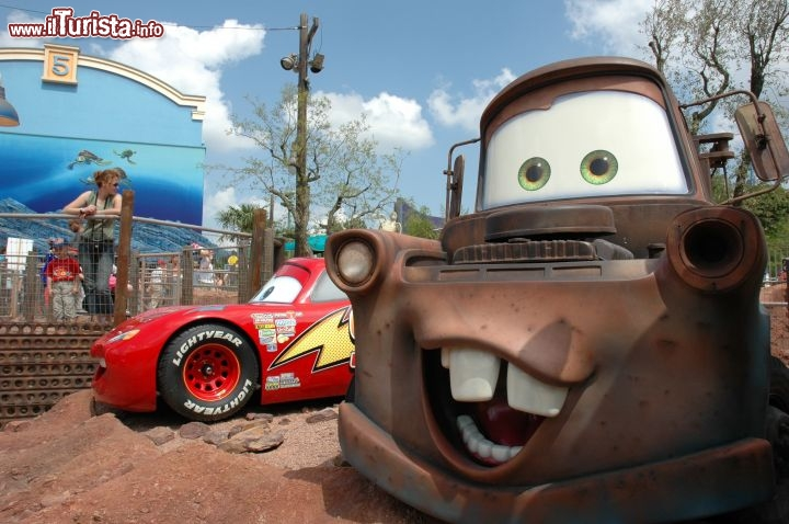 Cars Race Rally Eurodisney - © Disney. All rights reserved