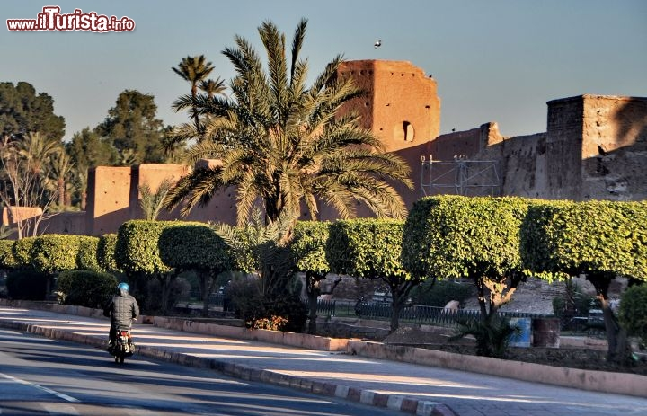I Ramparts di Marrakech all'alba