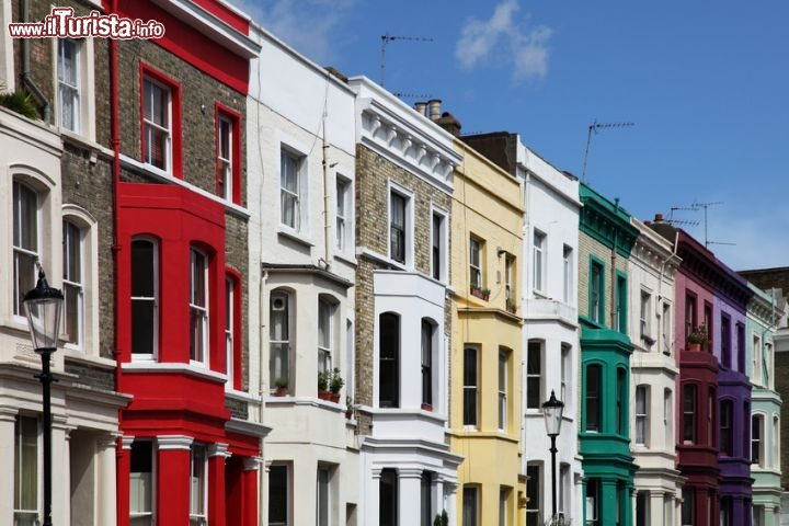 Immagine Le case colorate di Notting Hill a Londra