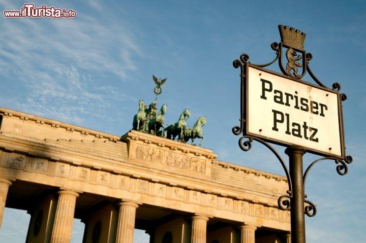 Germania berlino brandeburgo foto berlino porta di - Ugc porta di roma programmazione ...