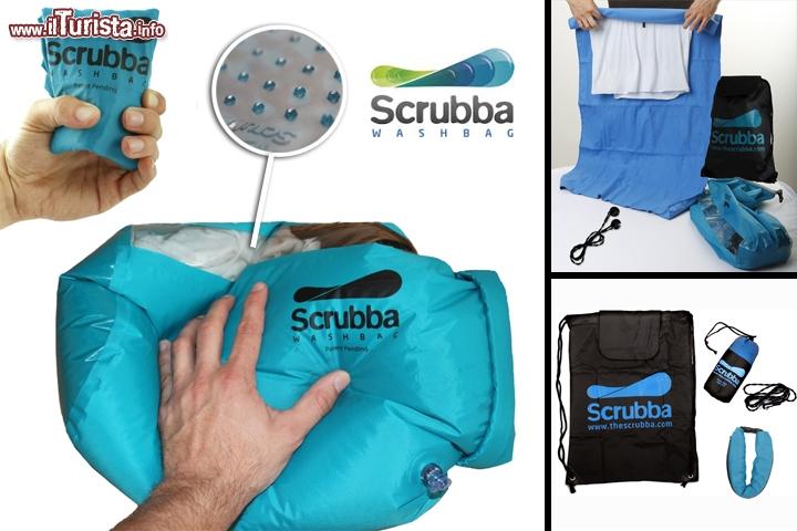 Scrubba borsa lavatrice da viaggio viaggiare low cost for Lavatrice low cost