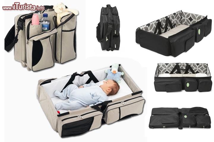 Borsa fasciatoio e culla da viaggio per neonati by quick for Accessori per neonati