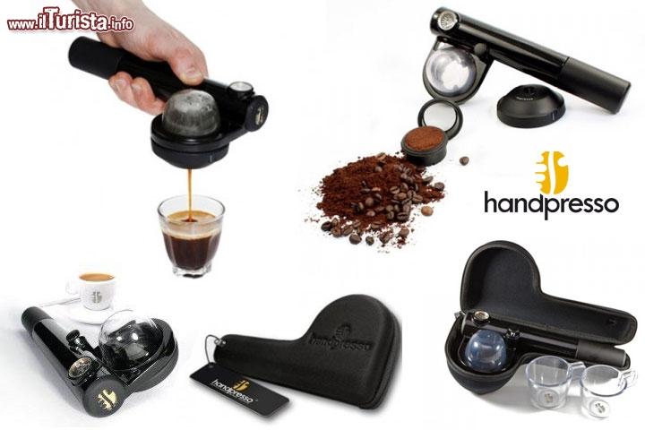 Macchina del caff espresso da viaggio by handespresso l for Macchina da cucire da viaggio