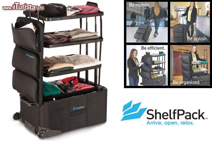 Shelfpack la valigia armadio - E' uno degli incubi per chi ama ...   Guarda tutte le foto