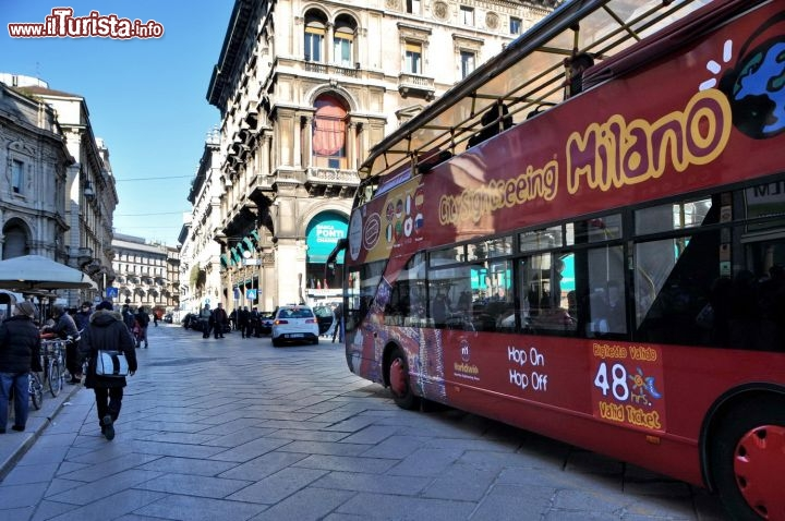 Bus panoramico Milano