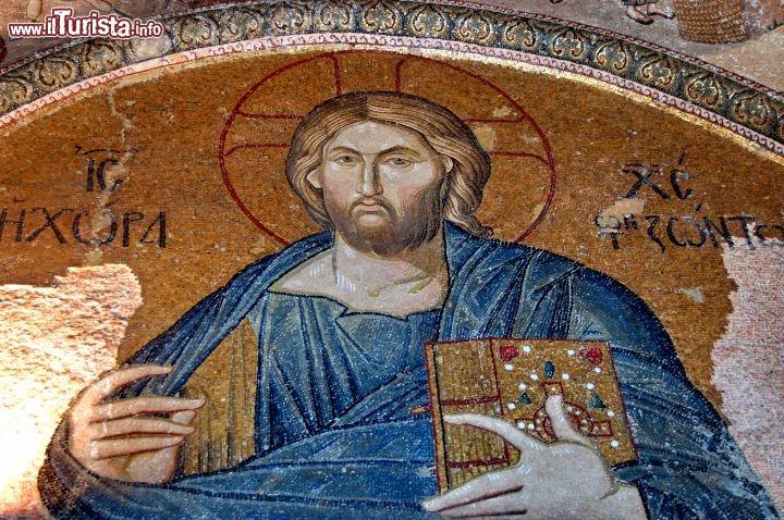 Mosaico cristo san salvatore chora foto istanbul san for Mobilia san salvatore