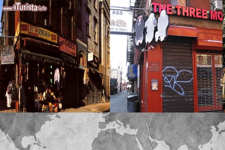 Beastie Boys, Paul's Boutique: il locale ora si chiama The Three Monkeys per celebrare questa cover storica, si trova al 99 di Rivington Street, NYC