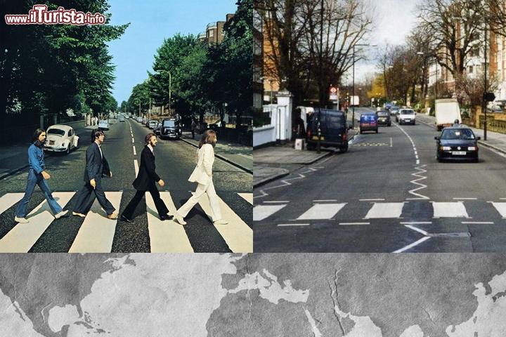 The Beatles, Abbey Road: il luogo sulla copertina è l
