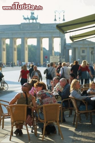 Immagine Brandenburg Gate e Pariser Platz a Berlino