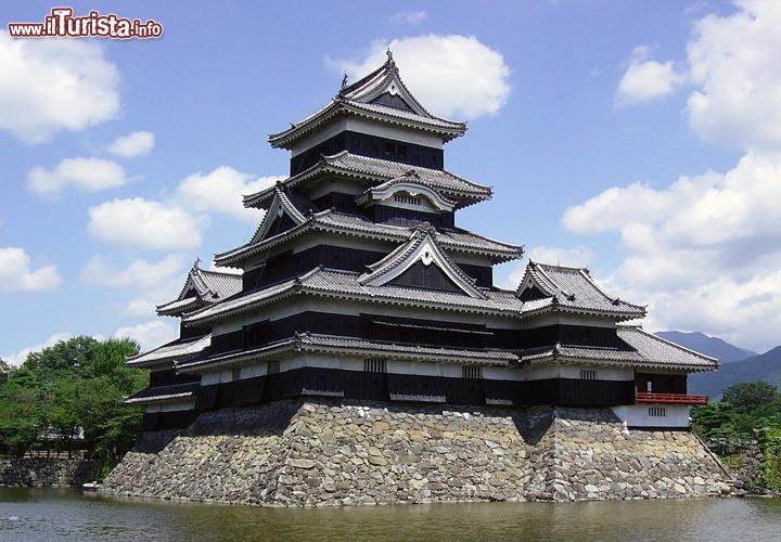 Castello di matsumoto nagano giappone in giappone non for Architettura giapponese