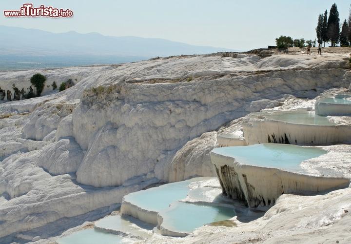 Cascate pamukkale denizli turchia nella turchia sud - Piscine naturali piemonte ...