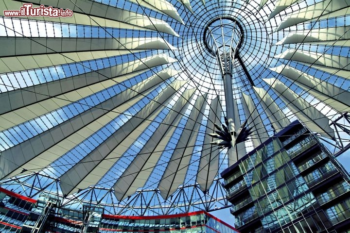 Immagine Sony Center Interno Potsdamer Platz Berlino