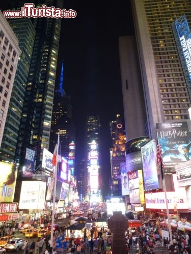 Immagine Times square Theater District a New York City