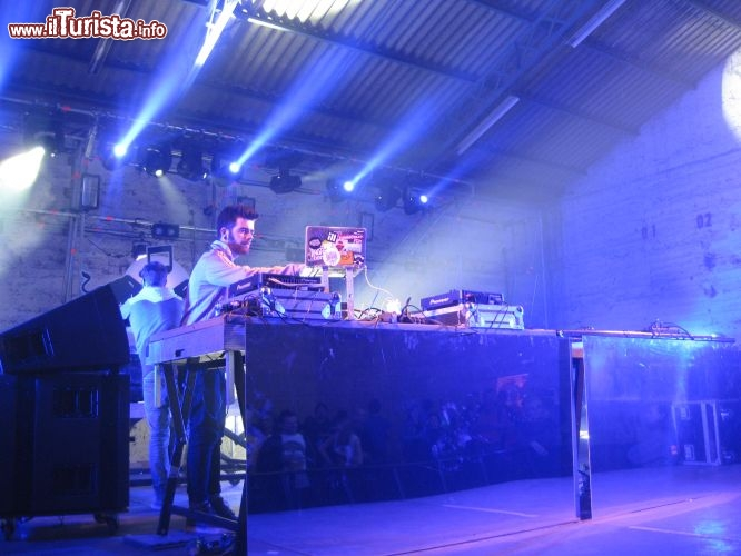 Immagine Dj set elettronico alle Nuits Sonores, Lione