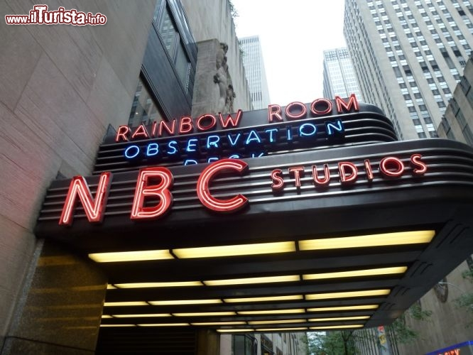 Immagine Nbc studios rockfeller center new york city