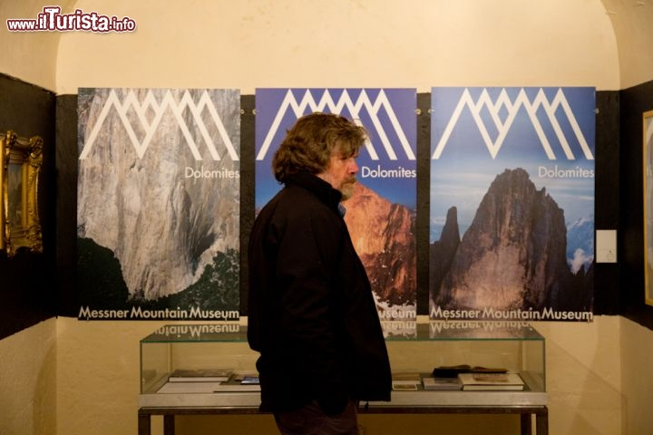 Messner Mountain Museum Monte Rite con Reinhold Messner
