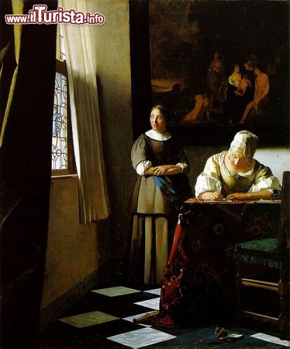 Immagine Dipinto di Vermeer si trova a Dublino nella National Gallery of Ireland