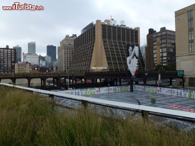 Immagine La vista dalla highline di New York City